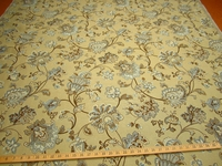 r9649, 2  1/2 yds Textured Floral Upholstery
