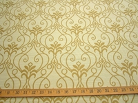 r9650b, 3 1/8 yards of Scroll design upholstery fabric