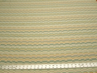 r9656, 1 1/2 yards geometric chenille mix upholstery fabric