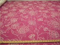r9673, 2 1/2 yards of Birds and Blooms Upholstery Fabric