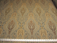 r9694, 3 3/4 yards paisley brocade type tapestry upholstery fabric