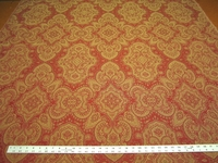 r9740, 3 1/4 yards of paisley patterned upholstery fabric