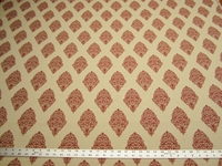 r9752b, 4 3/8 yards of paisley patterned upholstery fabric