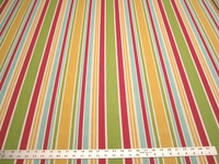 r9790, 3 7/8 yards of Robert Allen Mod Layout print upholstery fabric