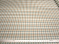 r9792, 2 1/2 yards of country check upholstery fabric