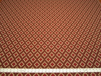 r9796, 2 1/2 yards of heavyweight textured diamond upholstery fabric