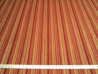 r9828, 4 7/8 yards of stripe chenille upholstery fabric