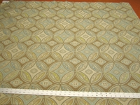 r9859, 2 yards of geometric patterned upholstery fabric