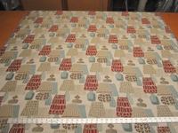 Regal tapestry with table lamps upholstery fabric