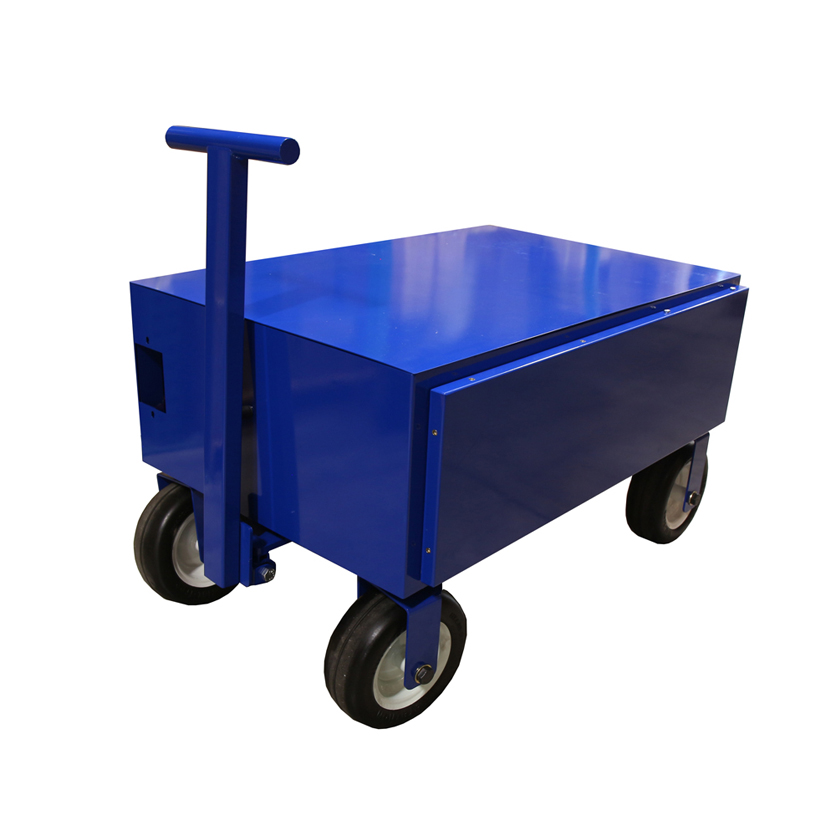 12 Volt 800 Amp Hour Battery Cart - Batteries Included