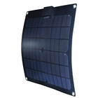15 Watt Semi Flex Solar Panel By Nature Power For 12V Rechargeable Batteries