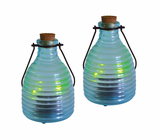 2 Pack LED Solar Firefly Jar Landscape Light by Malibu
