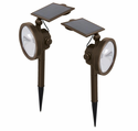 2 Pack Solar 54 Lumen Wall Wash Landscape Light by Malibu
