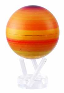 "4.5"" Saturn MOVA Globe with automatic spinning feature"