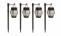 4 Pack Daybreak Solar Pathway Lights by Malibu
