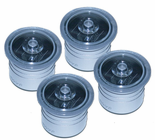 "4 Pack Solar Dock Dots for 1 3/8"" Holes Salt Water Rated for Nautical Docks, Decks, Boardwalks and Marinas"