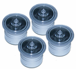 "4 Pack Solar Dock Dots for 1 3/8"" Holes Salt Water Rated Solar Lighting for Nautical Docks, Decks, Boardwalks and Marinas"