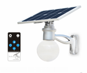 Solar LED Courtyard Light with Motion Activated 504 Lumens to 720 Lumens Feature