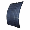 50 Watt Semi Flex Solar Panel By Nature Power For 12V Rechargeable Batteries