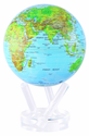 "6"" Blue Green MOVA Globe with automatic rotation feature"