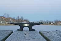 "8"" EZ Dock Solar Cleat for Docks, EZ Docks and Wave Armor Brand Docks"