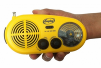 Freeplay Energy Assist Radio - Hand Crank and Solar Radio for Emergencies