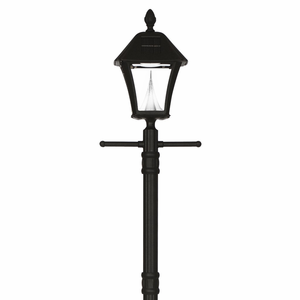 Baytown Solar Lamp Post with EZ Lamp Post Anchor