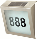BTR Modern Solar Address Sign