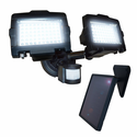 Dual-Head 120 LED Solar Security Light by Nature Power