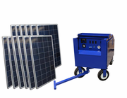 4000 Watt Solar Generator with 1440 Watts of Solar Power for Homes and Off Grid