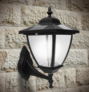 Elegante Solar Light with Wall Mount and Base Mount