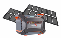 Enerplex 1200 Lightweight Solar Generator Kit with Lithium Battery 1,231 Watt Hours