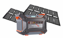 1000 Watt Portable Solar Generator Kit with Lightweight Lithium Battery