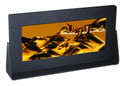 Exotic Sands Black Anodized Metal Rectangle - Art in Motion Sand Picture