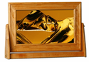 Exotic Sands Cherry Wood - Art in Motion Sand Picture