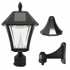 Gama Sonic Baytown II Solar Lamp - 3 Mounting Options