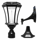 Gama Sonic Victorian Solar Light With 9 Warm-White LEDs with 3 Mounting Options