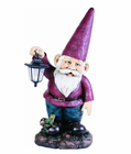 Giant Solar Lantern Gnome for Homes and Gardens