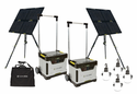 Goal Zero Yeti Ultimate Solar Generator Kit - 200 Ah Battery Power & 240 Watt Solar Power