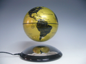 "Gold 6"" Anti-Gravity Levitating Globe by LeviTECH"