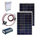 Grape Solar 200-Watt Off-Grid Solar Kit for Homes, Cabins, Sheds, Boats and RVs