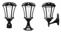 Victorian Solar Light with Motion Sensor and Three Mounting Options