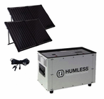 Humless 1500 Series 1.3 kWh Lightweight Solar Generator with 1500 Watt Inverter and 260 Watts of Solar Panels