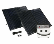 Humless 1500 Series .64 kWh Lightweight Solar Generator with 1500 Watt Inverter and 260 Watts of Solar Panels