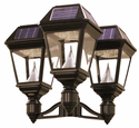"Imperial II Solar Lantern - 3"" Fitter Triple Head"