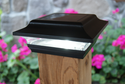 Imperial Solar Post Cap Light Available in Black or White for 2x2 Posts