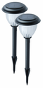 Lifetime Series Frosted Garden Lights - 2 Pack Solar Stake Lights