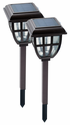 Lifetime Series Lantern Garden Lights - 2 Pack Solar Stake Lights
