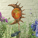 Luna Solar Stake Light, a solar accent light for gardens and other outdoor areas