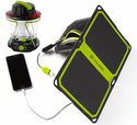 Goal Zero Lighthouse 400 Kit - Hand Crank Lantern with Nomad 7 Plus Solar Panel
